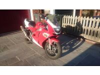 cheap kawasaki ZX6r ! ideal track bike, Full exhaust system & other modds