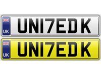 UN17ED K - UNITED KINGDOM - Cherished Personalised 2017 Number Plate