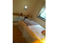 A lovely, fully-furnished king-sized bedroom in a shared 2 bedroom flat TO RENT
