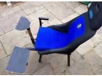 Sim seat corbeau pro sim seat