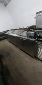 Commercial salad prep fridges, meat slicers and more!