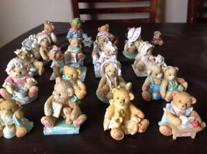 Cherished Teddies, Collection of ~20