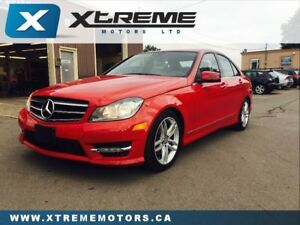 2014 Mercedes-Benz C-Class 300 4MATIC / NAVI/ CAMERA/ BLINDSPOT/