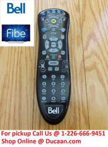 Bell FIBE TV Motorola MXv4 Remote Control TESTED