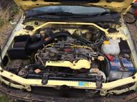 Subaru Impreza Project car