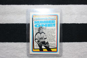 the great one hockey card