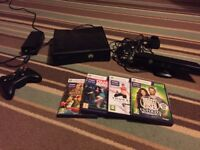 Xbox 360 with kinect games