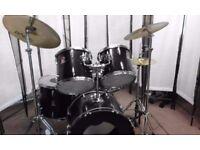 Retired drum teacher has a Premier 'Royale' drum kit for sale.
