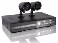 CCTV KIT – 4 Channel/2 IR Cameras H.264 – Eagle Eyes