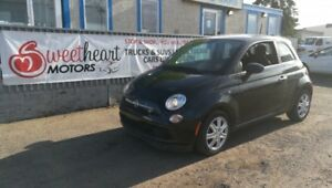 2013 Fiat 500 Pop Hatchback 1 YEAR  Free Warranty