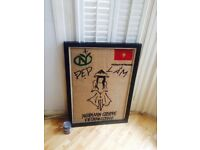 Rare Vietnamese framed collectors Vietnamese coffee sack Holland Road