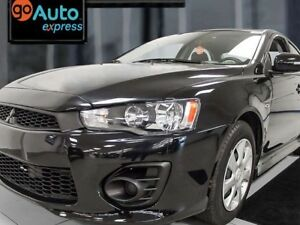 2017 Mitsubishi Lancer ES with heated seats and back up cam! Let