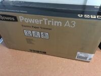 Fellowes A3 electric paper trimmer guillotine BNIB £80 o.n.o