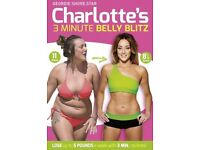 Charlotte Crosby's 3 Minute Belly Blitz - DVD Home Fitness Workout