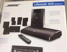 Bose 525 lifestyle series 2 home cinema 5.1 entertainment system