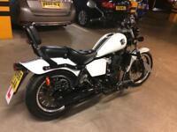 WK125 Cruiser Motorcycle (Dec 2016)
