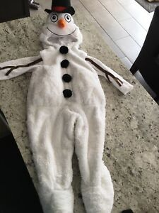 Toddler snowman costume size 1-2