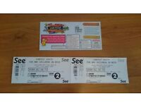 CarFest South Saturday Adult Tickets x2 (pair)