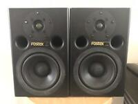 IMMACULATE FOSTEX PM0.5 SPEAKERS