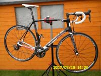 Lappierre Sensium 500 Full Carbon Road bike with Shimano Di2 electric gearshift