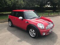 Mini One 3 door 2009 in Red