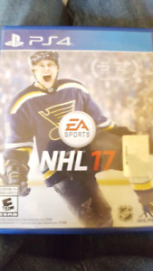 nhl 17 barely used ! 25 bucks will deliver !