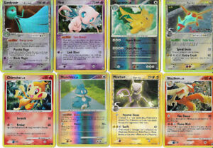 RARE POKEMON CARDS, MINT CONDITION HOLO AND REVERSE HOLO