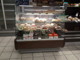 Fridge cake display