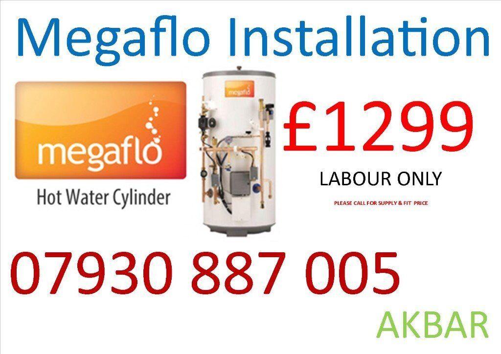 BOILER INSTALLATION, Megaflo, Back boiler removed, FULL House Plumbing, Underfloor HEATING,VAILLANT