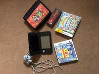 Nintendo 3DS XL Silver (Charge, Case and 2 Games) Excellent Condition