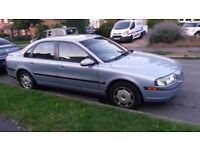 2001 Volvo S80 blue in good condition for its age - Smooth ride and runs well