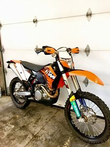 """""""NEEDS TO GO"""" 2010 Ktm exc 450 street plated"""