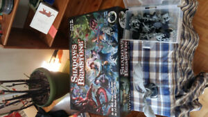 Collection of Cooperative and Horror Board Games
