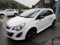 Vauxhall Corsa LIMITED EDITION (white) 2014