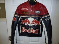 Thick Leather Racing Biker Jacket Size (S). Cost £269.99 when bought Looking For £100 OVNO.