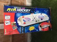 Power Go Air Hockey Table