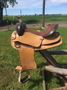 "15"" light weight saddle"