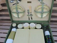 Vintage Brexton picnic set