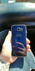 Samsung galaxy s6 like new no chips or cracks 250.00