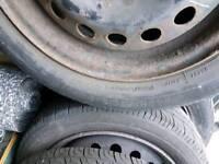 Nissan Micra steel wheels