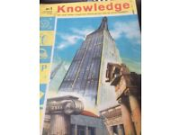 KnKnowledge weekly educational magazine for children 1961
