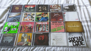 33 Mostly Pop punk Cds. Fall out boy, good charlotte, fenix tx