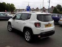 JEEP RENEGADE 1.6 M-JET LIMITED 5dr (white) 2015