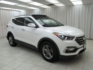 2017 Hyundai Santa Fe .9%W/HP SPORT AWD SUV w/ BLUETOOTH, HEATED