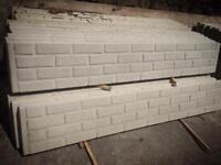Brick Effect Concrete Plinths / Kick Boards