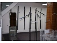 Shop fittings, Ladder wall etc. Excellent condition