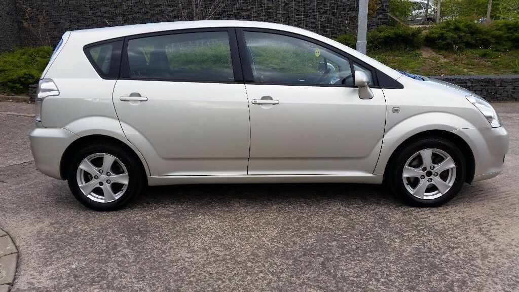 toyota corolla verso vvti t3 1 8 petrol 7 seater mot january 2018 in east end glasgow gumtree. Black Bedroom Furniture Sets. Home Design Ideas