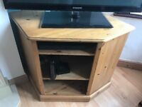 Solid Pine TV cabnet