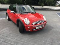 2004 - Mini Cooper 1.6 - Red/Black - 72580 Miles - MoT - Service History