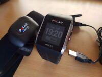 Polar V800 multisport fitness watch w/heart rate strap